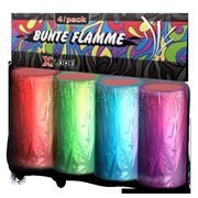 Foto auf Bunte Flamme
