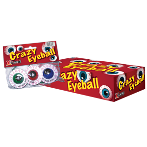 Foto auf Crazy Eyeball